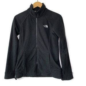 The North Face Black Fleece Full Zip Up Jacket